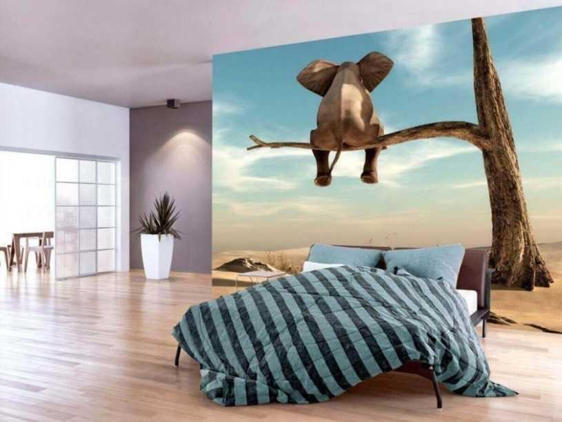 Фотообои для спальни — классные идеи применения в оформлении спальных, детских и гостинных