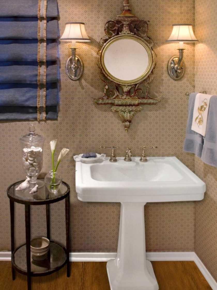 Аксессуары для ванной комнаты: оригинальные и необычные варианты украшения ванной в разных стилях