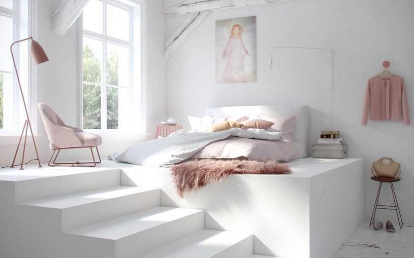 Белая спальня — особенности цвета, правила сочетания и самые красивые варианты использования белого цвета в спальне