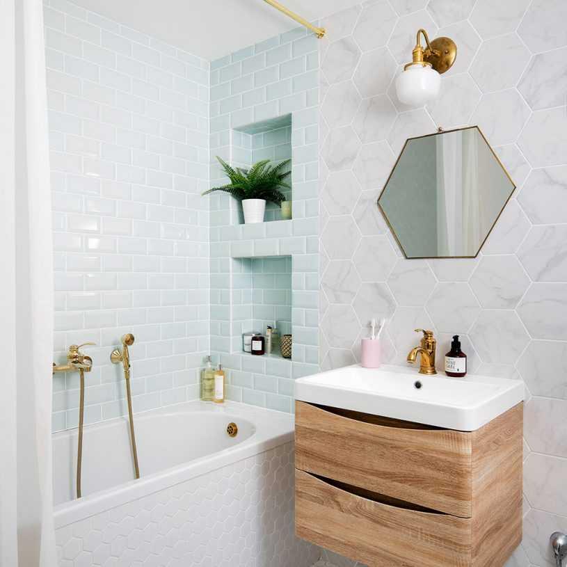 Маленькая ванная: советы дизайнеров по выбору материалов и оформления + 140 фото идей для ремонта