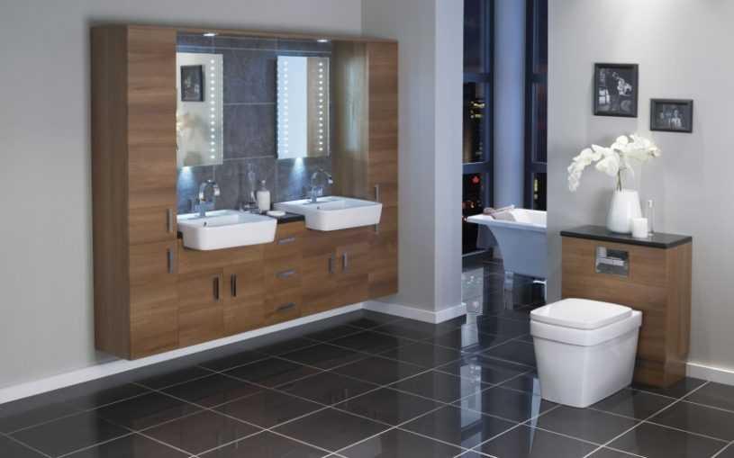 Мебель для ванной комнаты: советы по выбору элементов мебели и примеры интерьерного оформления
