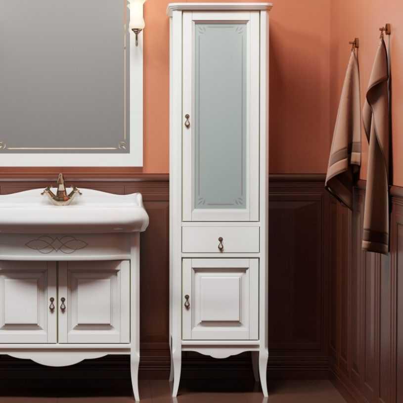 Шкаф в ванную комнату: обзор моделей и правила применения в разных дизайнах интерьера