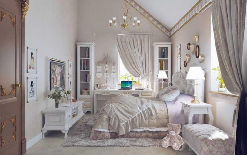 Детская комната для девочки — идеи оформления, варианты украшения и стильные решения для детей