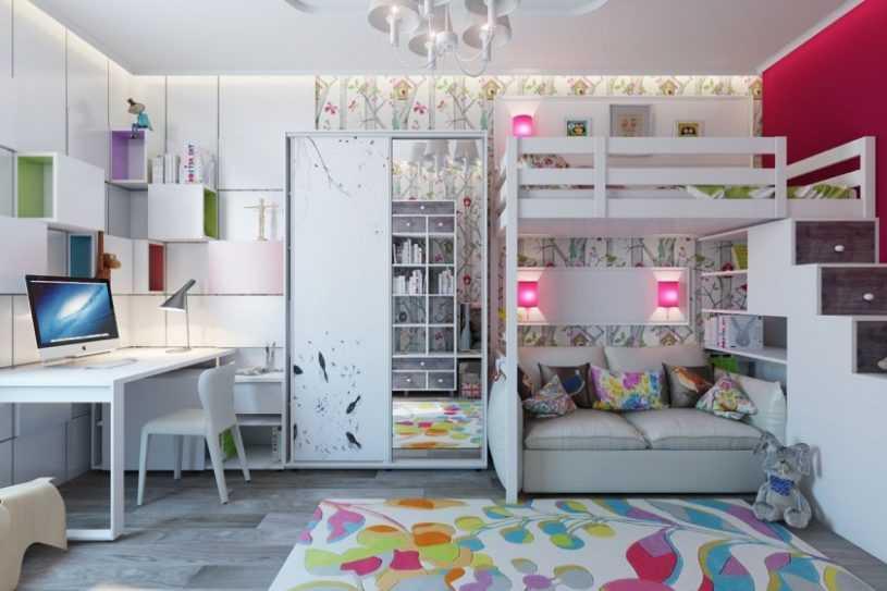 Детская для двоих детей: современный дизайн, варианты украшения и основные стили для детской