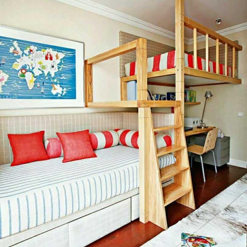 Детские двухъярусные кровати — обзор моделей и особенности выбора. 155 фото лучших решений