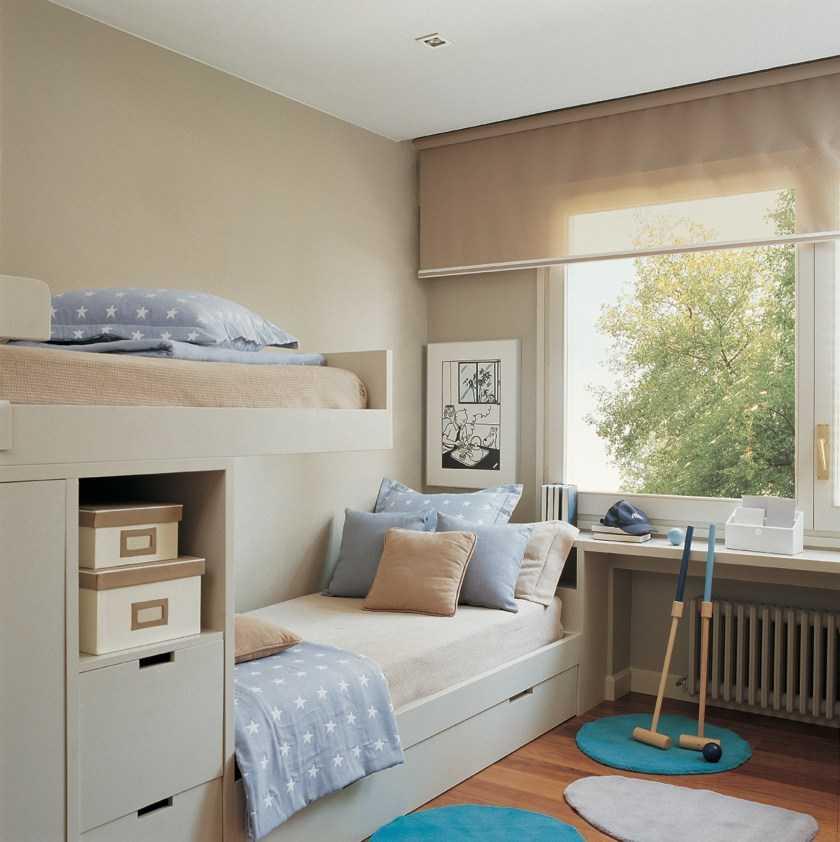 Маленькая детская комната — особенности дизайна и нюансы украшения детской маленького размера