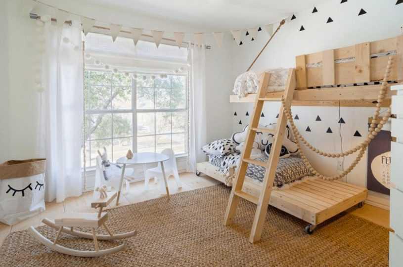 Дизайн детской комнаты — 145 фото вариантов оформления и обустройства детской стильно и интересно