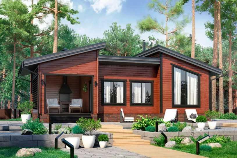 Проект одноэтажного дома с тремя спальнями — лучшие идеи, варианты архитектуры и особенности дизайна