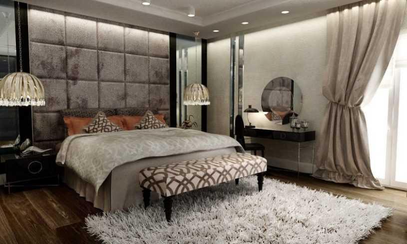 Спальня в стиле модерн | Фото дизайна, примеры красивого оформления и украшения современных спален