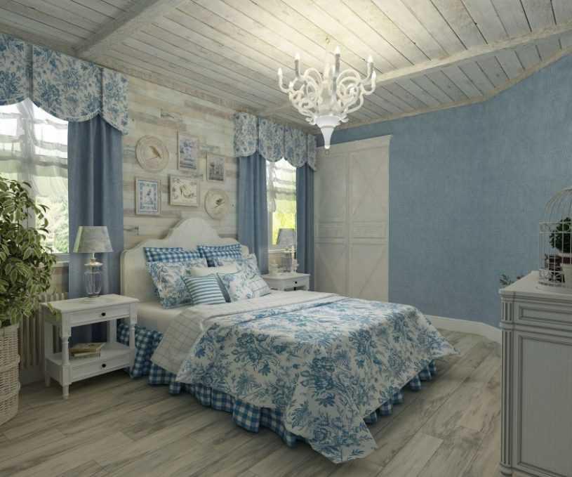 Спальня в стиле Прованс — что это за стиль и как его использовать правильно. Фото красивых и стильных сочетаний
