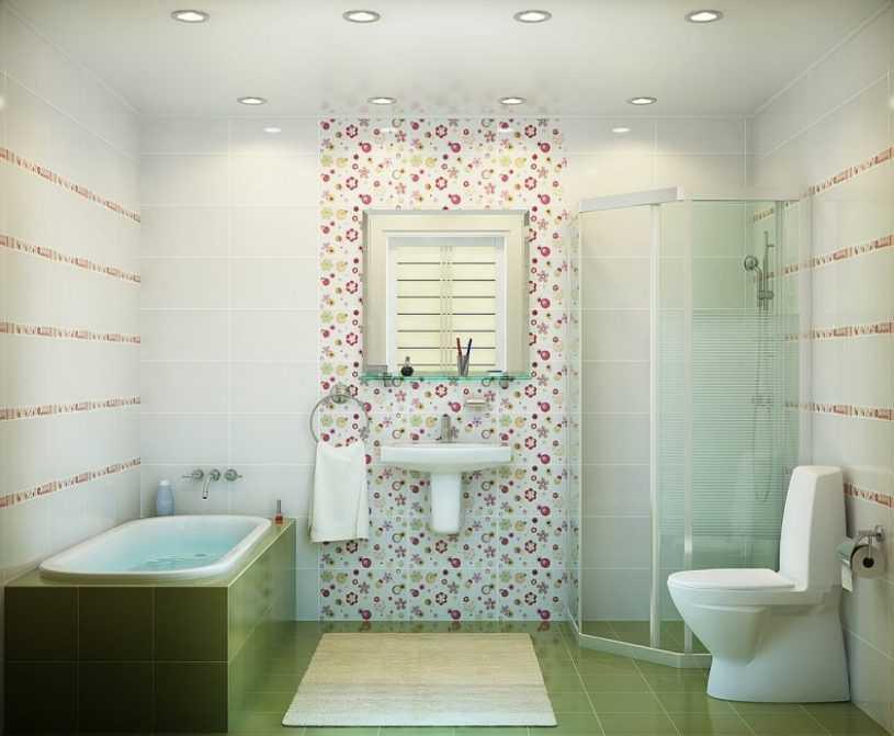 Дизайн ванной комнаты с туалетом | Красивые проекты для ванной и оригинальные идеи оформления