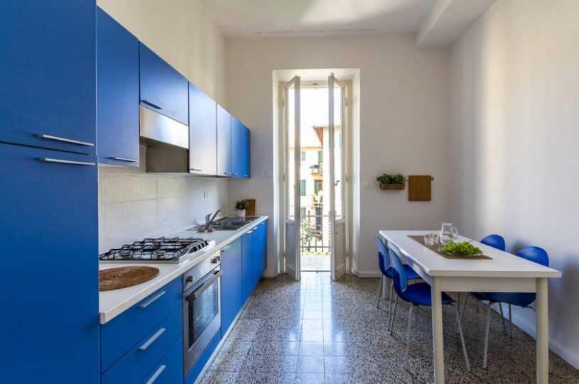 Кухня на одну стену | Особенности выбора, правила применения и нюансы размещения основных элементов