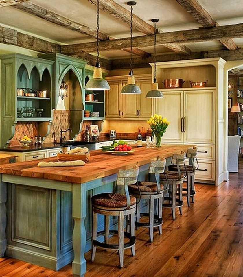 Кухня в стиле Кантри: красивые варианты оформления и особенности создания стиля для кухни