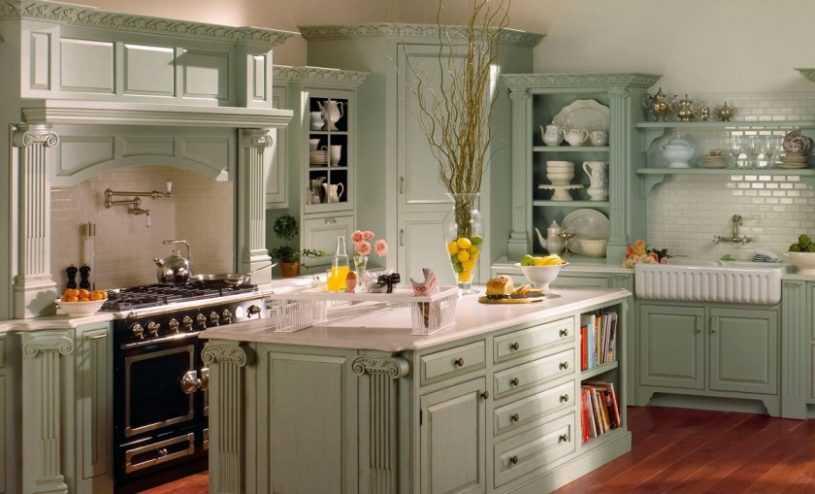 Кухня в стиле Прованс: обзор основных проектов, нюансы стиля и фото описание красивых кухонь