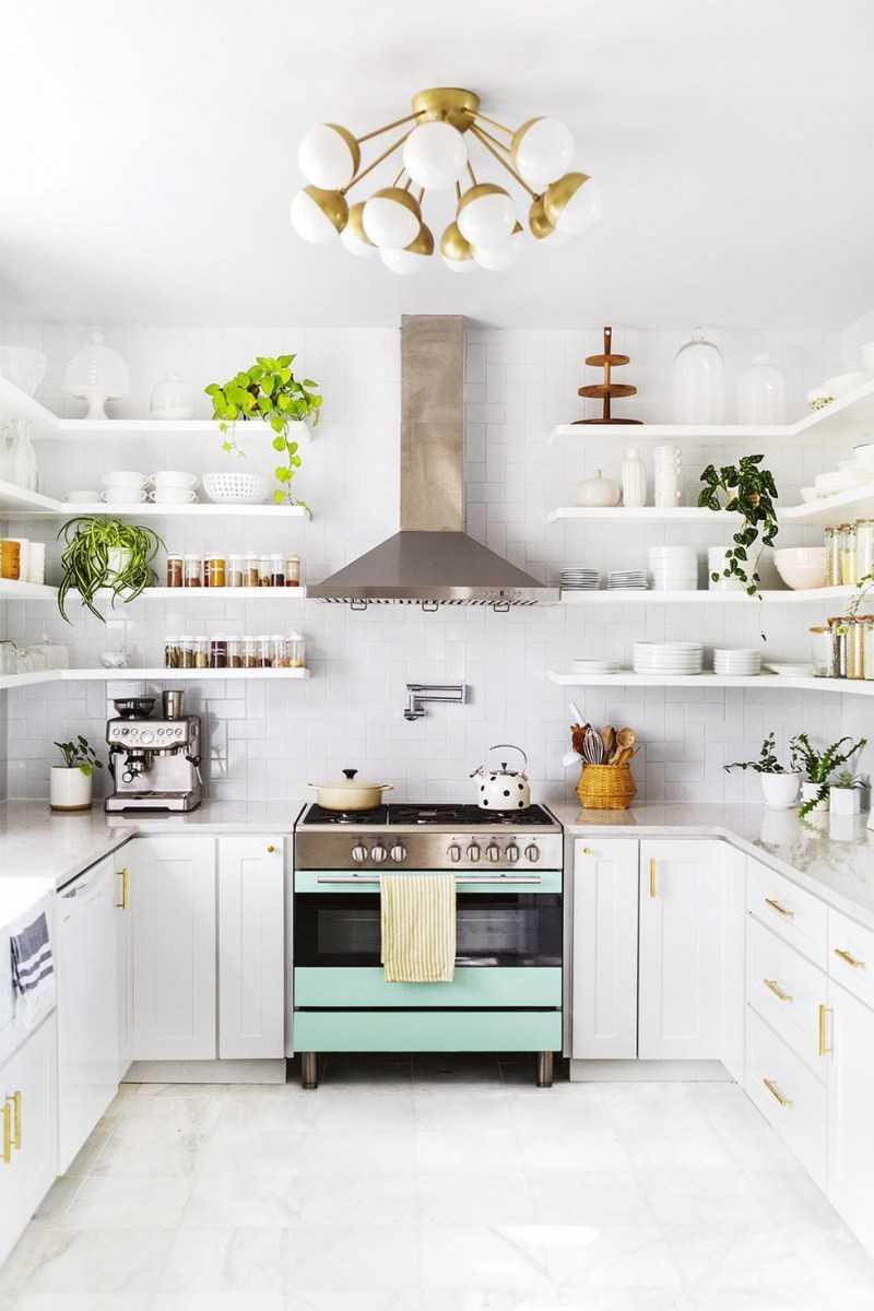 Маленькая кухня | Как оформить и украсить кухню небольших размеров. Хитрости и особенности оформления (175 фото)