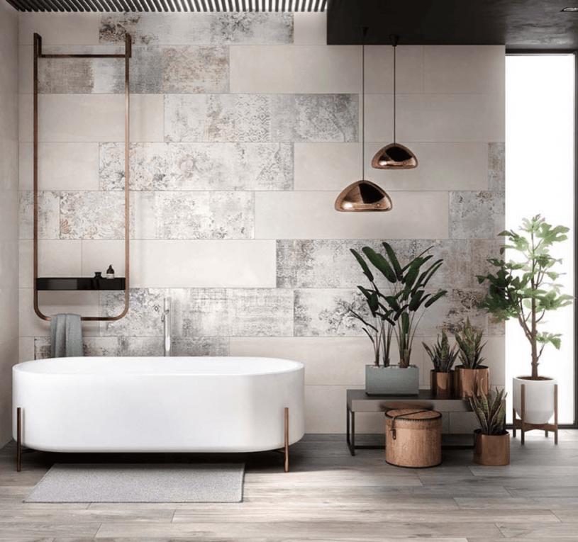 Отделка ванной комнаты — особенности выбора материалов и дизайнерских идей