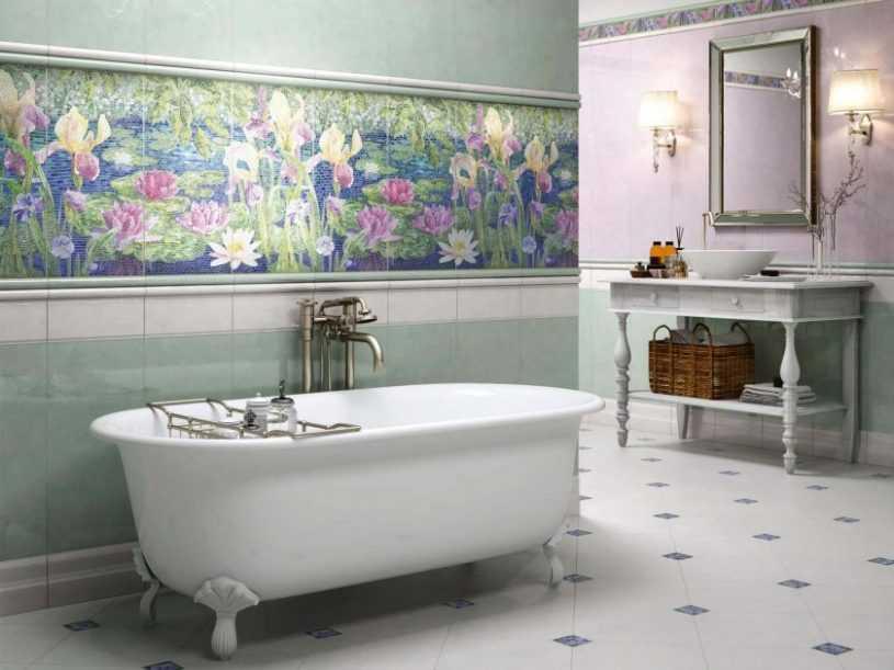 Плитка для ванной комнаты: плюсы и минусы материалов, цветовые решения. Критерии выбора плитки, идеи оформления для стильного дизайна (160 фото)