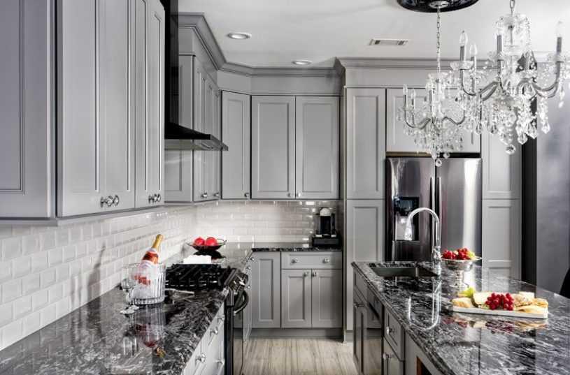 Серая кухня: дизайн и цветовые сочетания. Преимущества серых тонов на кухне, примеры стильных интерьеров + 150 лучших фото