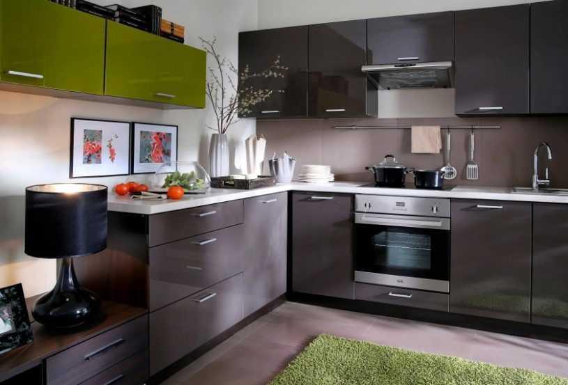 Угловые кухни | Обзор моделей, особенности применения, правила расположения и выбор дизайна