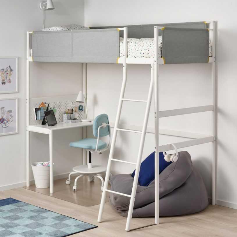 Детская кровать-чердак — виды, модели, особенности выбора и размещения в интерьере детской