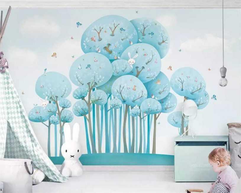 Фотообои для детской комнаты — идеи по выбору сюжета и советы по применению в дизайне интерьера