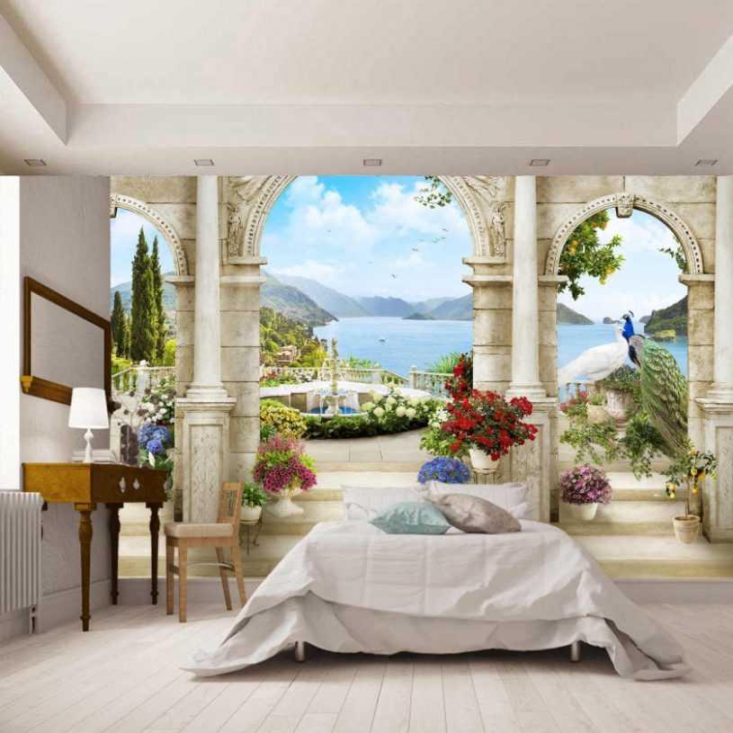 Фреска на стену: стили, секреты применения, особенности дизайна и украшения разных интерьеров
