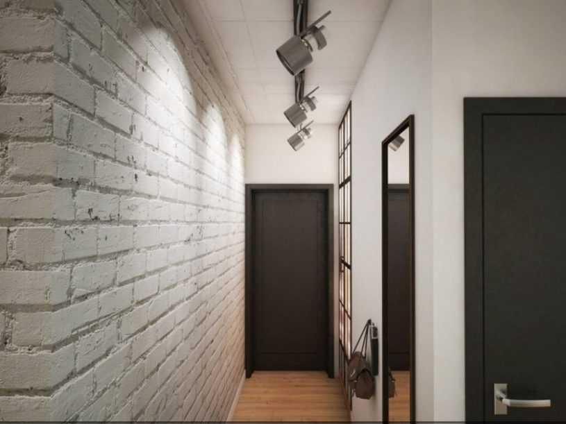 Кирпич в прихожей — обзор лучших идей оформления и сочетания интерьера прихожей с кирпичными стенами