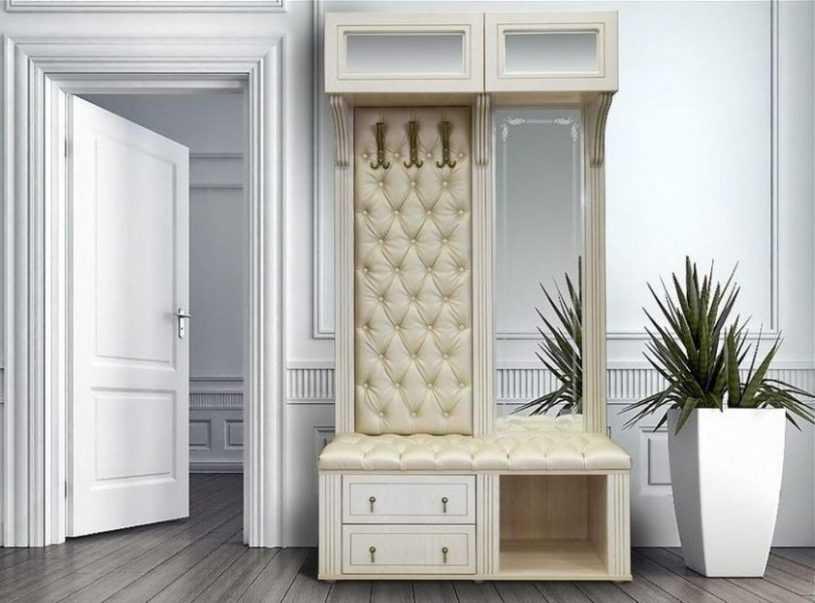 Мягкая прихожая — советы по оригинальному оформлению и идеи как украсить прихожую мягкой мебелью