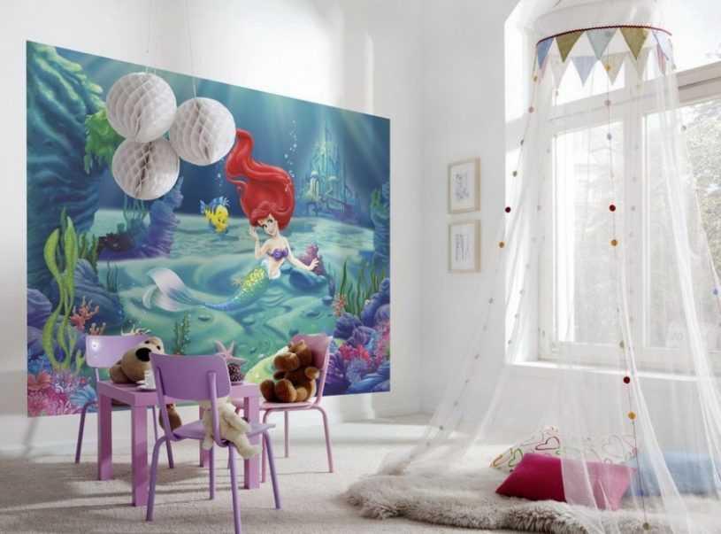 Обои в детскую комнату девочке и мальчику — особенности выбора и интересные варианты дизайнерской поклейки