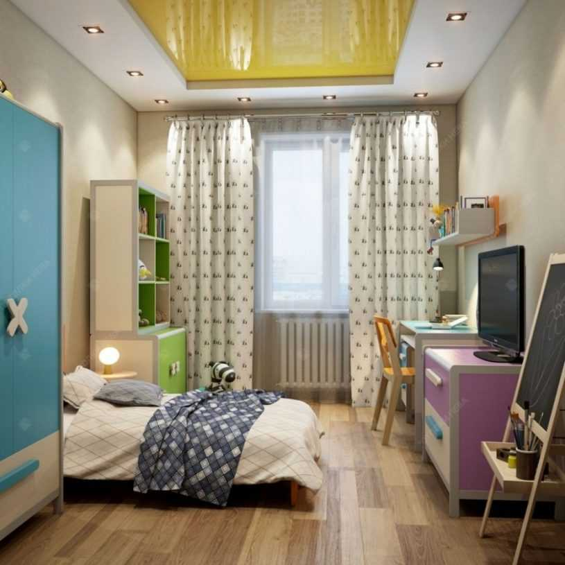 Потолок в детскую — лучшие потолочные конструкции и их дизайн в детскую комнату