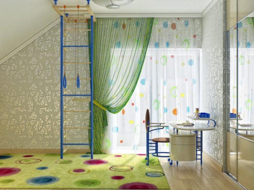Шторы в детскую комнату — крутые решения и варианты оформления детских комнат шторами
